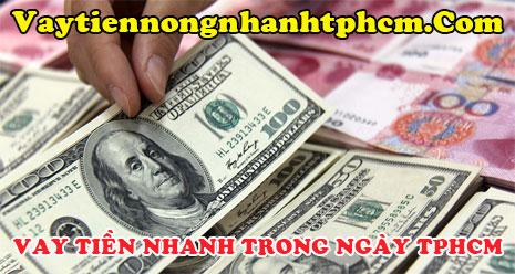 Vay tiền nhanh trong ngày TPHCM
